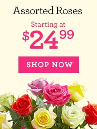 Deal of the Week: Assorted Roses, Starting at $24.99