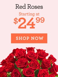 Deal of the Week: Red Roses, Starting at $24.99