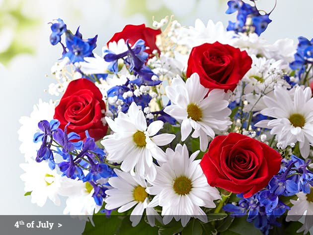 4th of July Flowers & Gifts