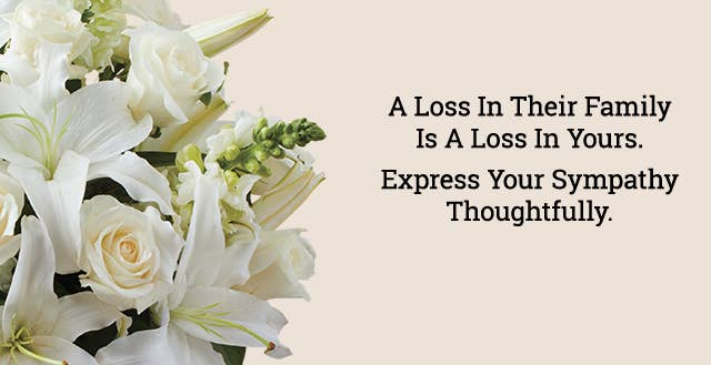 Express Your Sympathy Thoughtfully