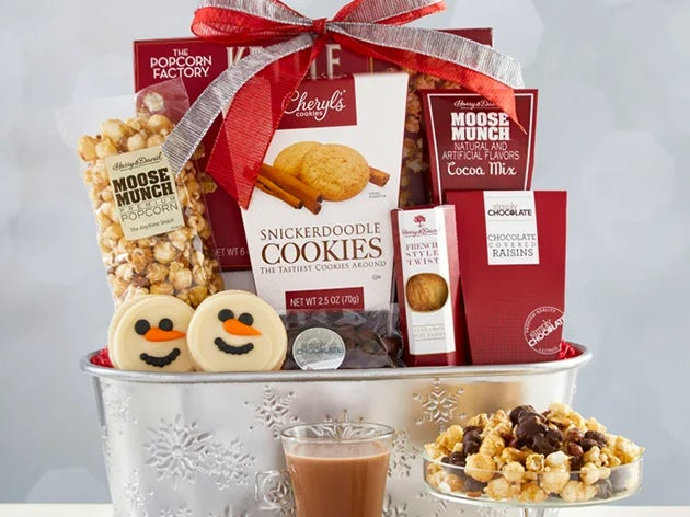 Christmas Gourmet Food & Gift Baskets