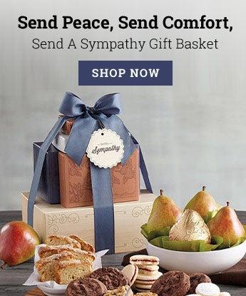 Send Peace, Send Comfort, Send A Sympathy Gift Basket