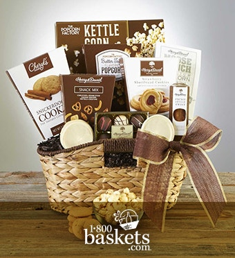 Premier Favorites Sweet & Treats Gift Basket