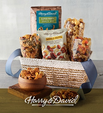 Harry & David® Snack Basketv