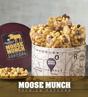 Moose Munch® Premium Popcorn Tin
