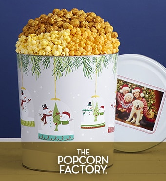 A Magical Holiday Popcorn Tin
