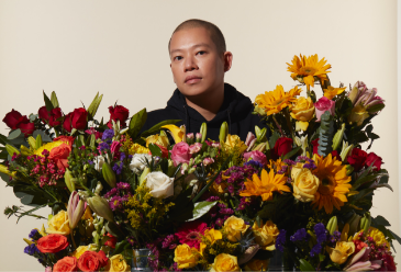 Jason Wu with Wild Beauty Flowers