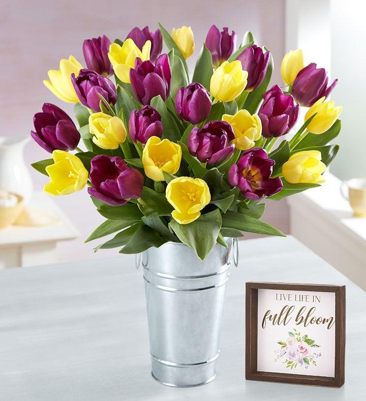 Spring Passion Tulip Bouquet