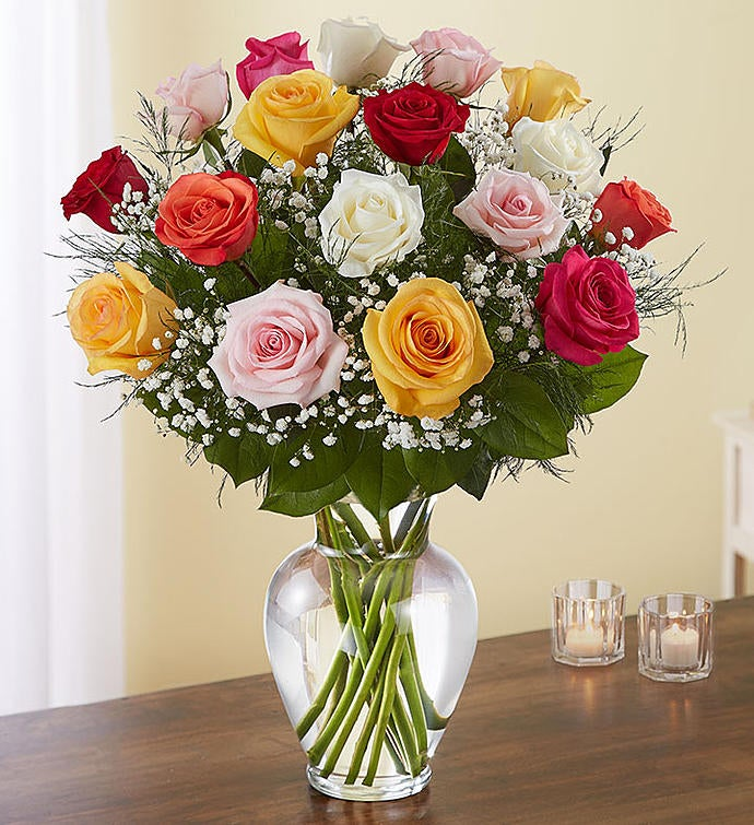 Rose Elegance™ Premium Long Stem Assorted Roses