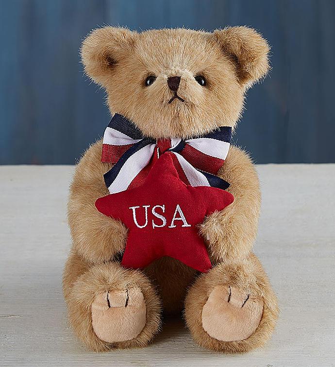 USA Patriotic Bearington® Bear