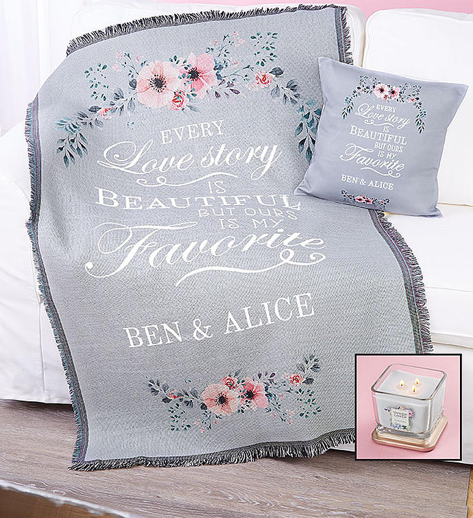 "Personalized ""Love Story"" Home Décor"