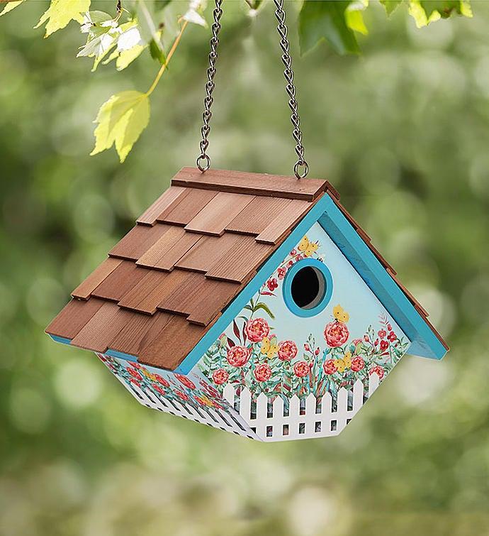 Butterfly Wren Birdhouse
