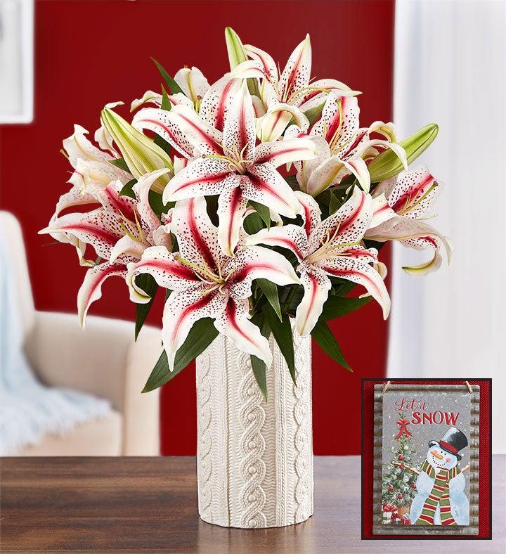 Winter Wonder Lilies
