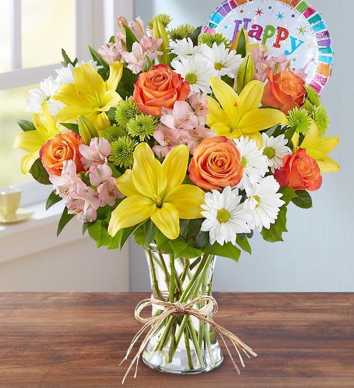 Fields of Europe™ Happy Birthday Bouquet