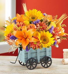 Harvest Hayride™ Flower Arrangement