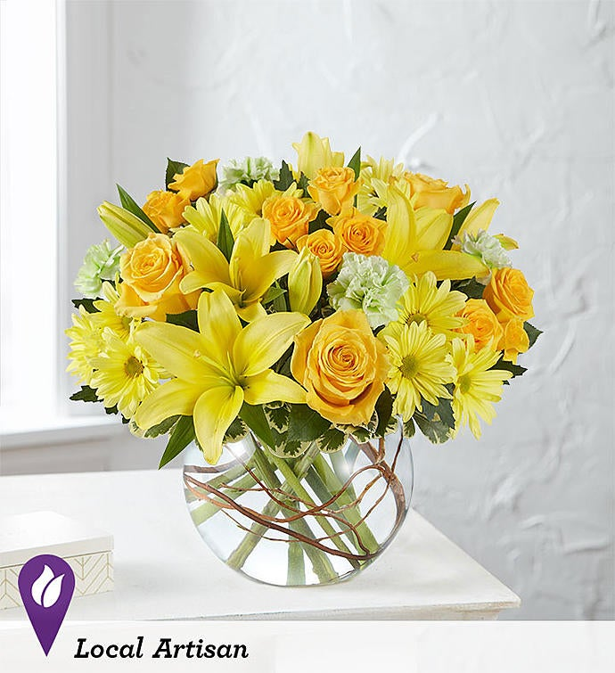 Smiling Surprise Bouquet