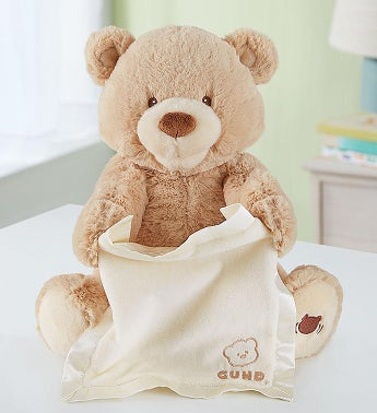 c773587df2b Peek-A-Boo Animated Bear by Gund®