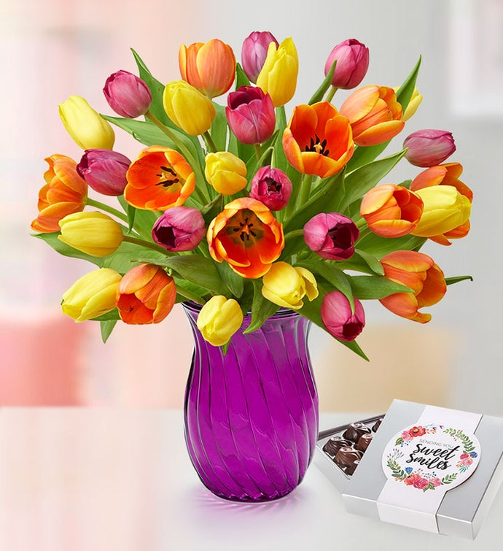 Assorted Tulip Bouquet