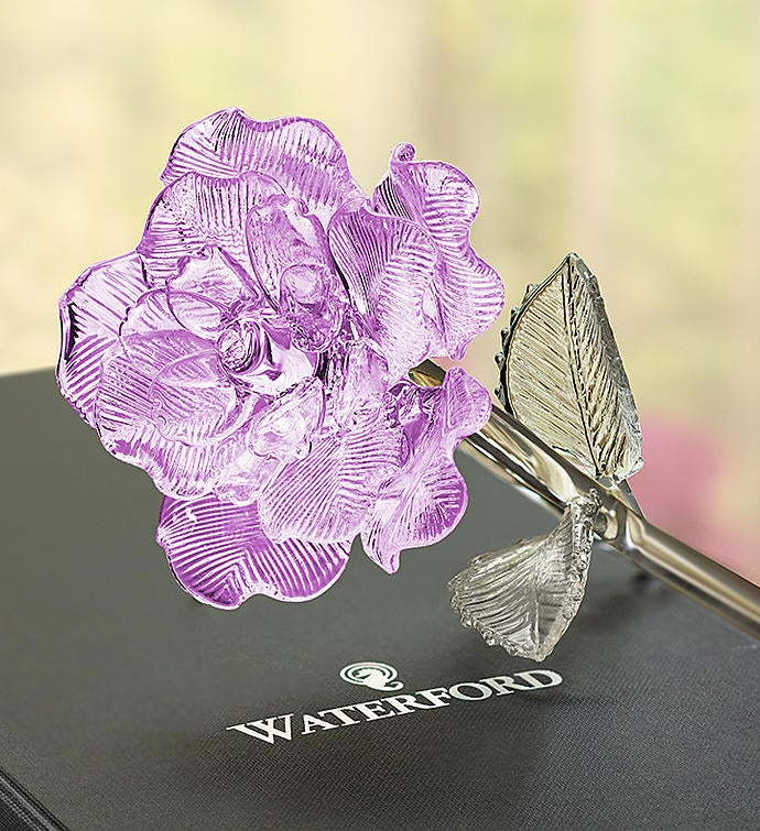 Waterford® Crystal Rose