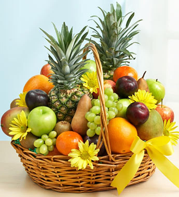 Deluxe All Fruit Basket