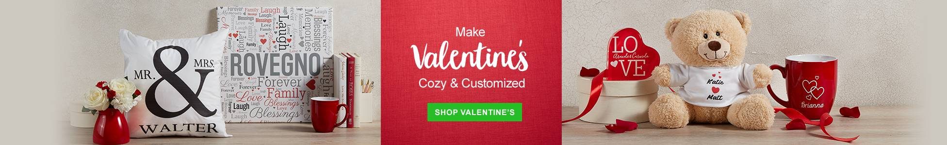 Make Valentines Cozy & Customized