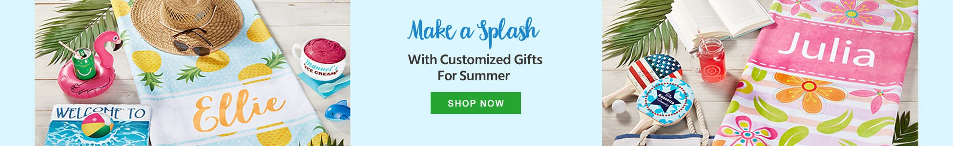 Personalized Summer Gifts