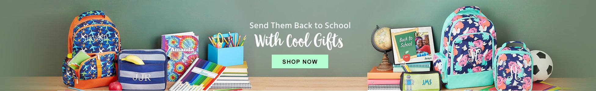 Personalized Back To School Gifts